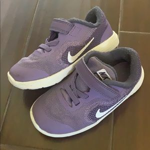 Nike Revolution 3 kids shoes (unisex) TCU fans!